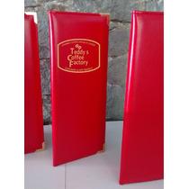 La Carta, Medio Oficio, Porta-menu Para Restaurant, Carpeta