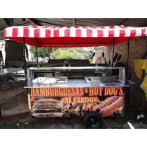 Carro Hot Dogs Parrilla Carros Hot Dog Carreta Hotdogs