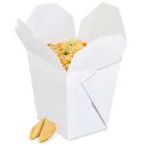 Paquete De 450 Cajas Blancas Para Comida China Sin Asa 32oz