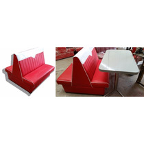 Sofa Confortable Para Restaurante Booth Edicion Especial