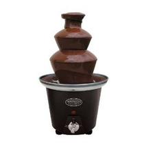 Nostalgia-electricidad-mini-chocolate Fondue-fuente-negro