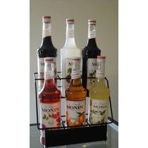 Exhibidor De 6 Botellas Para Organizar Barras De Café O Bar
