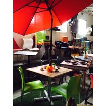 Mesas Con Sombrilla Para Restaurantes Hoteles
