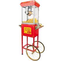Maquina De Palomitas Comercial De 8 Oz Con Carrito A Meses
