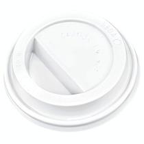 1000 Tapas Blancas Para Vaso Termico 12 Y 16 Oz Cafeterias