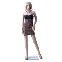 Maniqui Exhibidor Mujer Completo Plastico Ropa