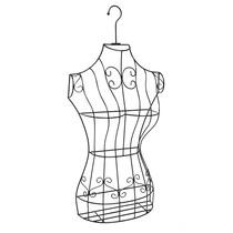 Maniqui Torso Elegante Alambre Vestido Bonito Metal Hm4