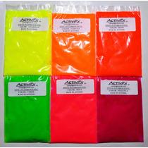Tinta Fluorescente Neon Serigrafia Textil Base Plastisol