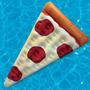Salvavidas Pizza Flotador Alberca Piscina Agua Inflable