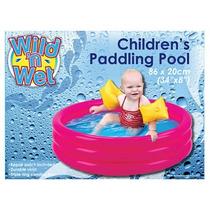 Piscina Para Niños - 34-inchx 8-inch Fun Kids Familia Pisci