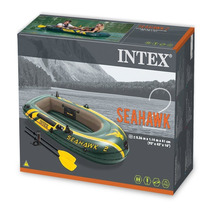 Bote Inflable Intex Seahawk 2 Boat Set