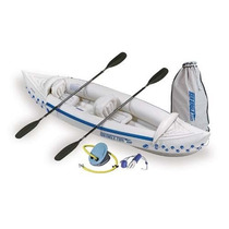 Bote Inflable Sea Eagle 330 Kayak Deluxe!