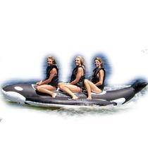 Bote Inflable Banana Boat Playa 3 Personas