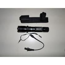 Promocion Lampara Policial Con Paralizador Stun Gun,descarga