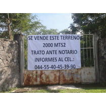 Venta De Terreno En Chiconcuac, Xochitepec Morelos