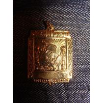 Mason Medalla Luveton Plata Baño Oro Magia Esoterismo Logia
