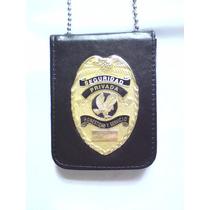 Placa De Seguridad Privada Tipo Policia Federal Modelo 01