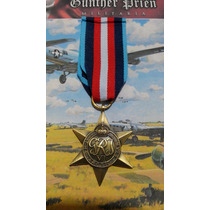 Medalla Estrella Del Ártico Británica Segunda Guerra Réplica