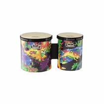 Bongos Percusión Remo Kids Tela Música Instrumentos