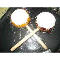 Gcg 1 Lote De 2 Tamborcitos Tambor Ceremonial Didactico Fn4