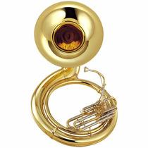 Tuba Sousafón Yamaha De Metal Acabado En Laca Clara En Bbb