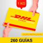 260 Guia Prepagada Dia Siguiente Dhl 1kg+recoleccion Gratis