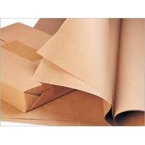 Papel Para Envoltura Kraft En Hojas 50x70 Cm Empaque 150 Pz