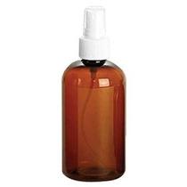 4 Oz Ámbar Pet (plástico) Spray De Botella Vacía Paquete De
