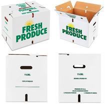 15 Cajas De Carton Para Frutas O Verduras Carga 15 Kilos