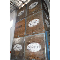 Cajas De Madera Para Industria De Frutas O Verduras
