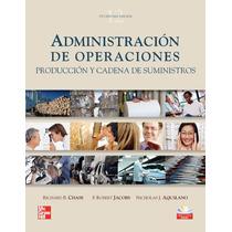 Administración Operaciones: Producción Cadena De Suministros