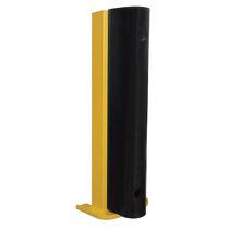 Protector Parachoques Plataforma Estante Acero/caucho Amaril