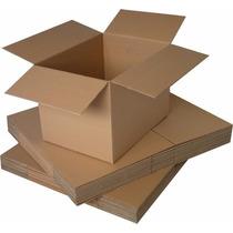 10 Cajas De Cartón 30 X 25 X 25 Cms (largoxanchoxalto)