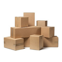 100 Cajas De Corrugado 30x24x30cm