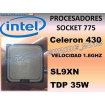 Procesador Intel Celeron 430 1.8ghz Sl9xn Socket 775 Tdp35w
