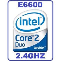 Core2duo E6600 2.4ghz/4m/1066 Doble Nucleo Fisico Poderoso