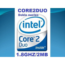 Procesador Core 2 Duo E4300 1.8ghz/2m/bus 800
