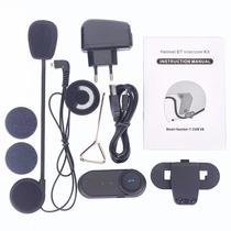 Intercomunicador Para Casco (bluetooth) (radio Fm) (800m)