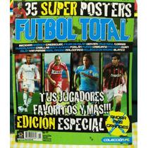 Revista Futbol Total, 35 Posters De Varios Jugadores