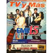 Eme 15 Eleazar Gomez Paulina Gotto Revista Tvymas