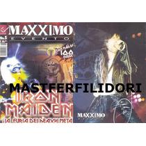 Iron Maiden Revista Edicion Especial Maxximo 2012