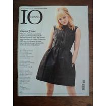 Revista Libro Italia Italiano Io Donna Año 2011 Souvenir