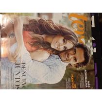 Revista Teve Portada Cristian De La Fuente Y Karyme Lozano