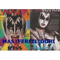 Kiss Paul Stanley Gene Simmons Kiss Revista La Mosca 1999