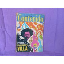 Contenido, Editorial Contenido, México, Núm. 86, 1970.