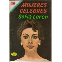Revista Mujeres Celebres Presenta:la Vida De: Sofia Loren