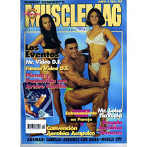 Revista Musclemag Año 2 #2 Nº 24 Mr. Lobo Tlaxcala