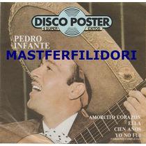 Pedro Infante Disco Poster 1984 Revista + Lp + Poster Mn4