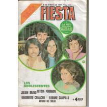 Fotonovela Fiesta: Julian Bravo, Leticia Perdigon, Dagoberto