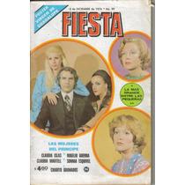 Fotonovela Fiesta: Claudia Islas, Rogelio Guerra, Sonnia E.